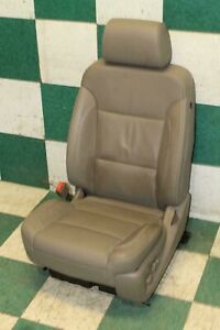15 18 Gm Hd Tan Leather Lh Driver Power Heated Cooled Front Bucket Seat An3 Oem