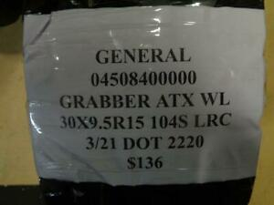 1 New General Grabber Atx Wl 30 9 5 15 104s Tire 0450840000 Q1 Bsr4 1