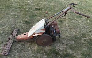 local Pickup vintage Jari Walk Behind Sickle Bar Mower