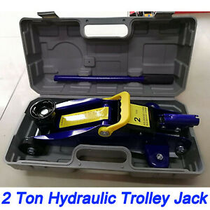 2 Ton Portable Floor Jack Vehicle Car Garage Auto Small Hydraulic Lift W Case