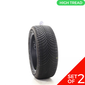 Set Of 2 Used 225 50r17 Michelin Crossclimate 2 98v 9 9 5 32