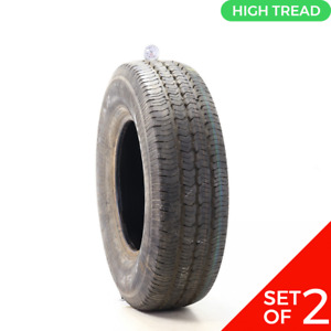 Set Of 2 Used 245 75r16 Goodyear Wrangler St 109s 11 12 32