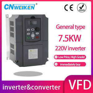 Spindle Inverter Ac Drive 7 5kw 5 5kw 4kw 220v Frequency Converter 3 Phase