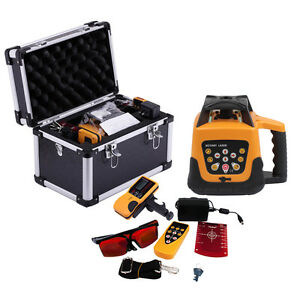Red green Rotary Laser Level Rotating Self Levelling Ip54 500m Range Automatic