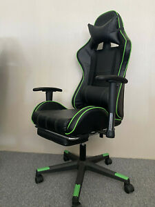 New Adjustable Office Gaming Chair Racing Executive Computer Desk Seat Swivel