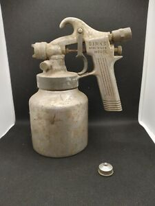 Vintage Binks Paint Spray Gun Model 35 Paint Sprayer And Can See Pics