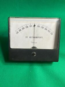 Simpson Panel Meter 500 0 500 Dc Microamperes New Old Stock