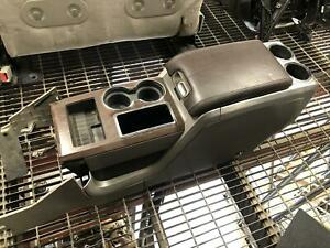 Ford F150 Pickup Front Console Floor With Lid Floor Shift Platinum Brown Tan 09