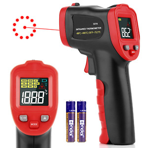 Digital Thermometer Thermal Imager Handheld Non contact Laser Infrared 58 75