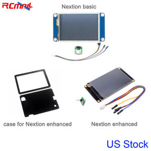 Nextion 5 Inch 5 0 Enhanced Basic Touch Screen Lcd Display Module Case Us Stock