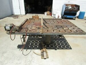 Welding Woodworking Clamp Table 6 X 4 5 75 X 56 we Ship Freight