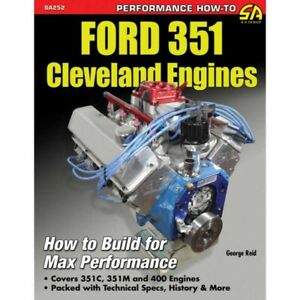 Ford 351 Cleveland Engines Book 66 68851 1