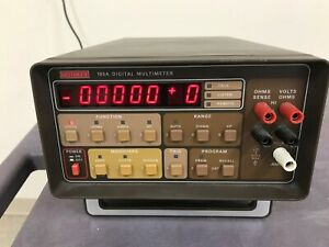 Keithley 195a Digital Multimeter With Model 1950 Ac amps Option Installed