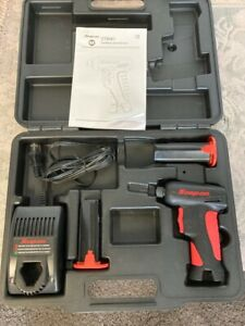 Snap on Cts561 7 2v 1 4 Cordless Screwdriver Set W hard Case And Manual