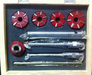 Carbide Tipped Valve Seat Face Cutter Set Of 5 Pcs Kit Pieces Cutters Tip