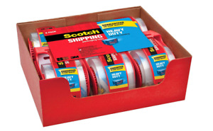 Clear Scotch Shipping Packing Tape 3m 1 88 6 Rolls 800 Dispenser Heavy Duty Box