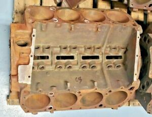 1963 Max Wedge 426 Cubic Inch Bare Engine Block Date Code 2 8 63 Part 185029 3