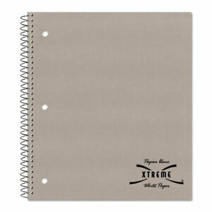 Rediform Kolor Kraft Cover 3 Hole Punched 1 subject Notebook 80 Sheets Wire