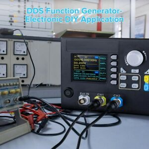 Jds2800 15mhz Dual Ch Function Arbitrary Waveform Signal Generator Meter 14 Bits