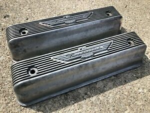 Vintage 1955 1956 57 Ford Y Block Valve Covers 272 292 312 Fairlane Thunderbird