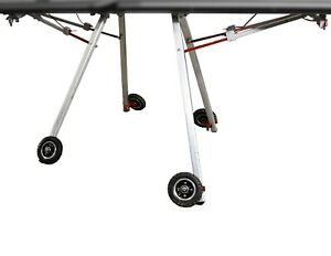 Just bend Collapsible Stand 4 Wheels For Tapco And Vanmark brake Not Included