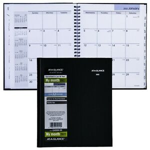 2022 At a glance Dayminder G400h Monthly Planner Hardcover 6 7 8 X 8 5 8