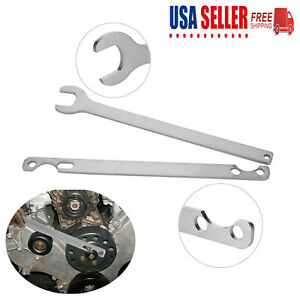 For Bmw 32mm Fan Clutch Nut Wrench And Water Pump Holder Removal Tool Set Usa