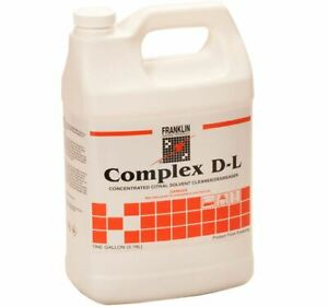 Complex D l Concentrated Solvent Cleaner degreaser Gallon each