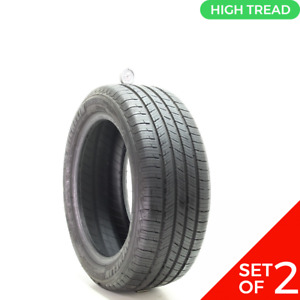 Set Of 2 Used 225 50r17 Michelin Defender T h 94h 8 9 5 32