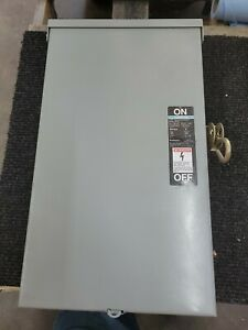 Siemens Ite Heavy Duty Safety Switch Nrh423 100 Amp 240 Volt Fusible 3r