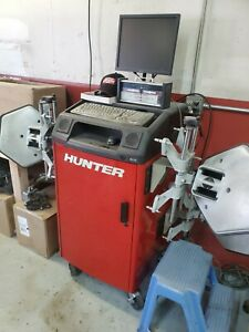 Hunter Alignment Machine Pa130 Hawkeye Wall Mount