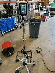 Bard Site rite Prevue Ultrasound System 9770090 With Roll Stand Power Supply