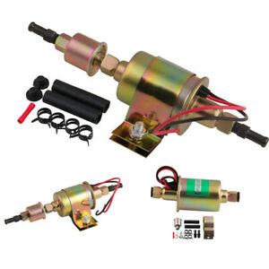 Universal Electric Fuel Pump Carburetor 12v 5 9 Psi Cars Trucks Tractors E8012s