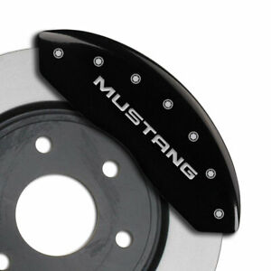 Mgp Caliper Covers Front And Reargt Engraving For 1999 2004 Ford Mustang black