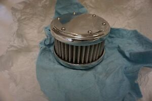 Flat Top 2 Barrel Air Cleaner Street Rod Rat Rod Parts Hot Rod Custom Vintage