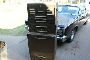 Kennedy Tool Box 3 piece Stackable On Casters
