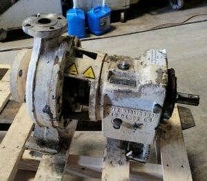 Sulzer Industrial 200 Gpm Pump Cpt21 1b Stainless Steel 1 5 Outlet X 4 Inlet