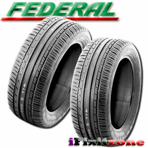 2 New Federal Couragia F x 285 45zr19 111w All Season On off Road Radial Tires