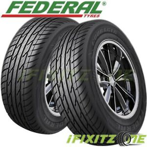 2 New Federal Couragia Xuv P265 70r15 112h All Season Suv Touring Highway Tire