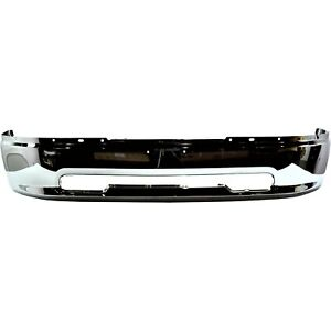 New Chrome Front Bumper For 2009 2012 Ram 1500 Ships Today