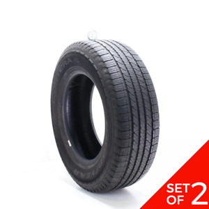 Set Of 2 Used 245 70r17 Goodyear Fortera Hl 108t 6 7 5 32