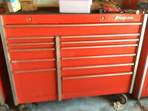 Snapon Snap On Snap On Kr1001 Red Tool Box Bottom Cabinet Nice
