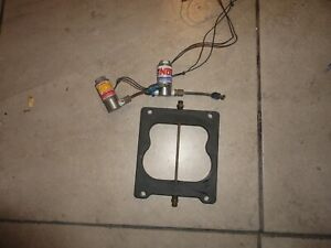 Nitrous Solenoids And Plate