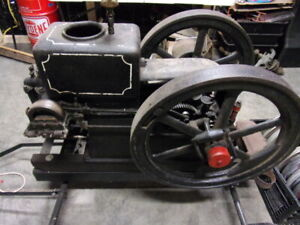 Antique Termaat Monahan 2 1 2 Hp Hit And Miss Engine On Nice Cart Truck Rare