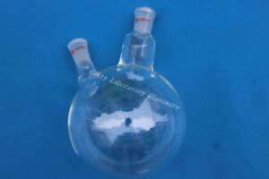 2000ml 2l Two neck Round Bottom Boil Flask 2 neck 24 40 heavy Wall