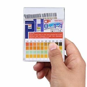 Ph Test Strips 0 14 0 5 Accuracy 100ct Ph Strips Ph Test Paper To Test