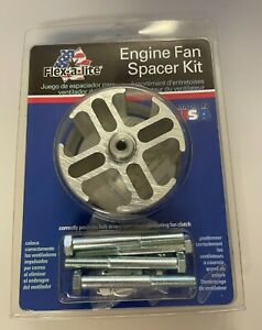 Flex A Lite 14556 2 Fan Spacer Kit For Most Older Ford Gm And Amc Applications