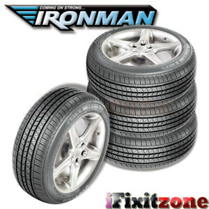 4 Ironman Rb 12 Rb12 Nws 215 75r15 100s White Wall All Season Performance Tires