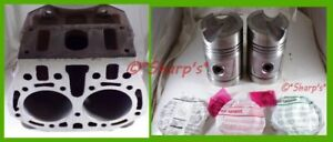 B1305r John Deere B Br Bo Cylinder Block With High Compression Pistons 39 40