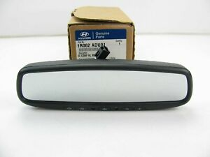 New Genuine Rear view Mirror Auto Dimming Compass Homelink Oem For 12 13 Accent